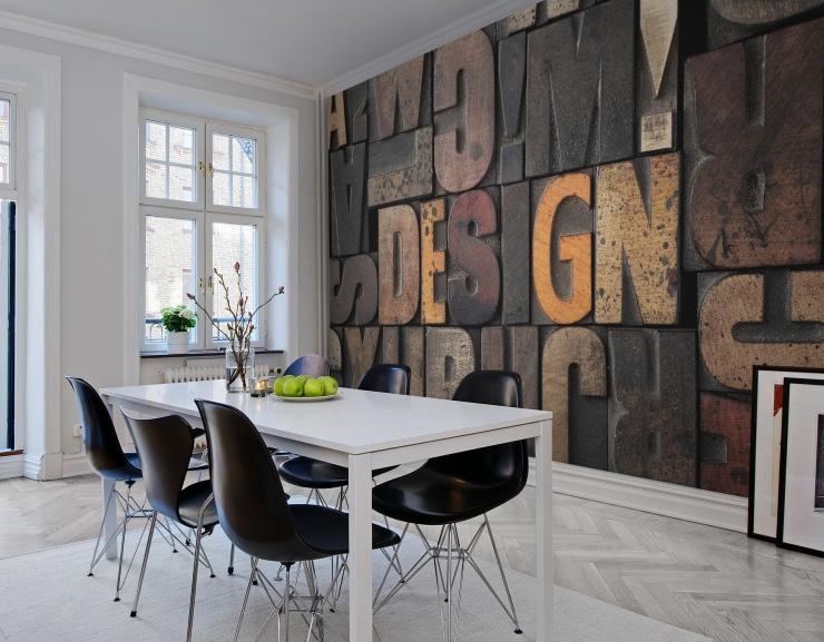 Интересное решение для интерьера комнаты — картина из обоев. как сделать своими руками?