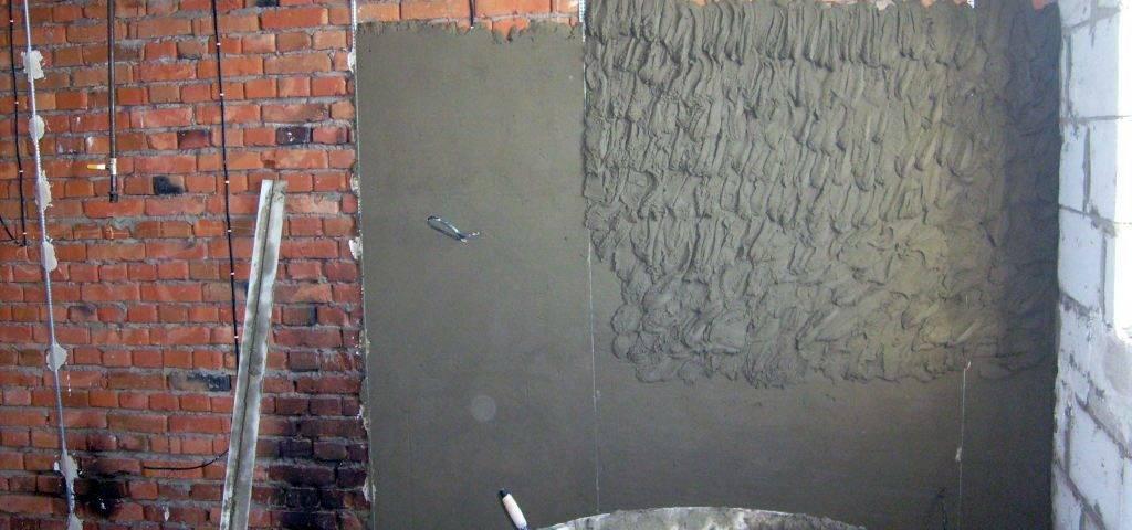 Раствор для штукатурки стен своими руками пропорции - клуб мастеров