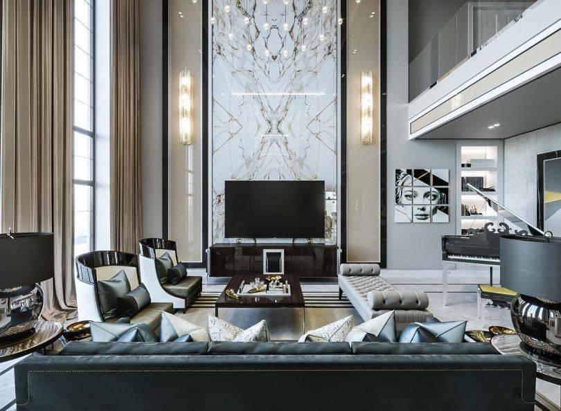 Выбираем лучший стиль интерьера гостиной: 88 фото и идей