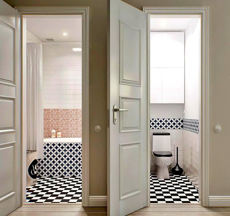 Типовые размеры межкомнатных дверей и дверных проемов