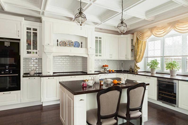 Светлая кухня: реальные фото примеры дизайна интерьеров в светлых тонах