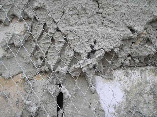 Сетка для нанесения штукатурки на стены: виды и область применения