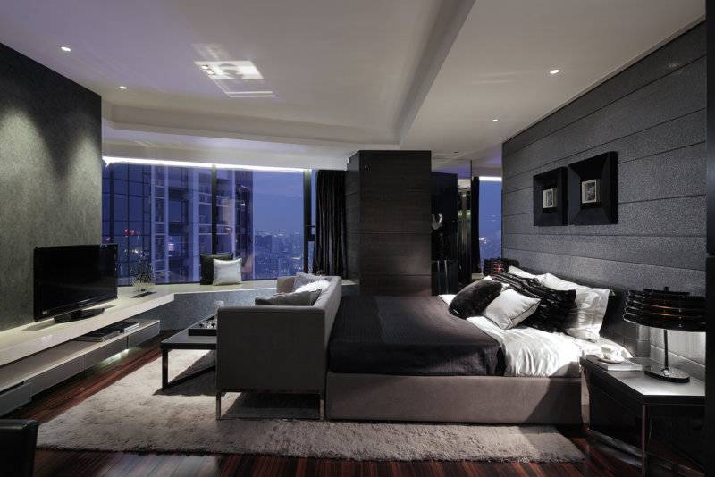 Дизайн комнаты 12 кв.м.: планировка, зонирование - 75 фото