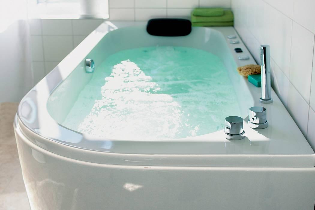 Установка смесителя в ванной, на борт акриловой ванны, к полипропиленовым трубам