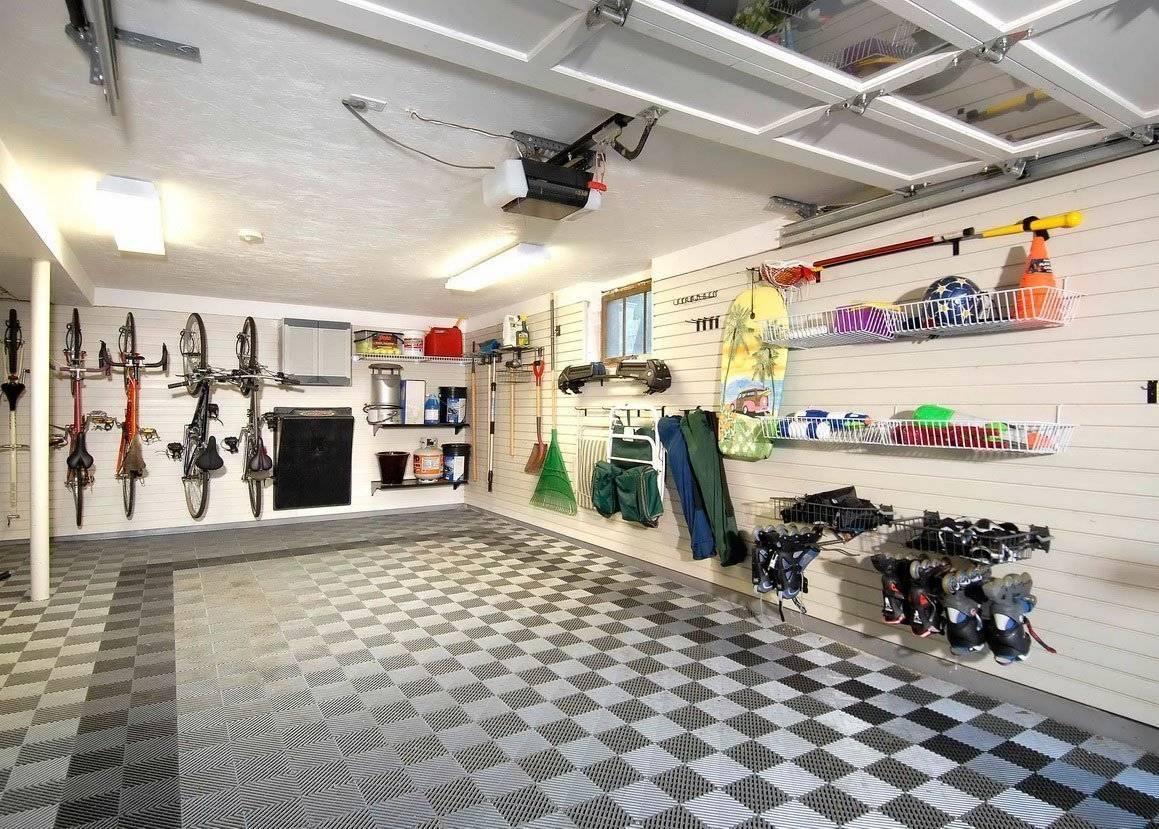 Дизайн гаража (46 фото): красивый интерьер внутри своими руками и как сделать, чтобы было удобно