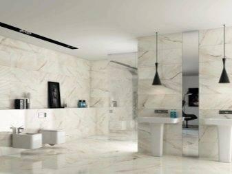 Дизайн ванной комнаты с мраморной плиткой - лучшие идеи!