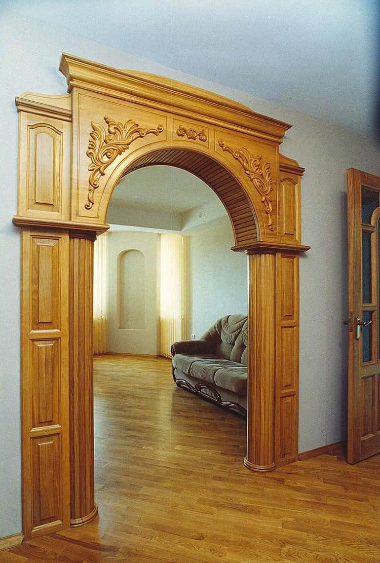 Оформление дверного проема без двери: как добиться вау-эффекта
