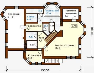 Одноэтажные дома с цокольным этажом (38 фото): проекты и планы 1-этажных домов с мансардой на склоне и других вариантов, планировка современных домов