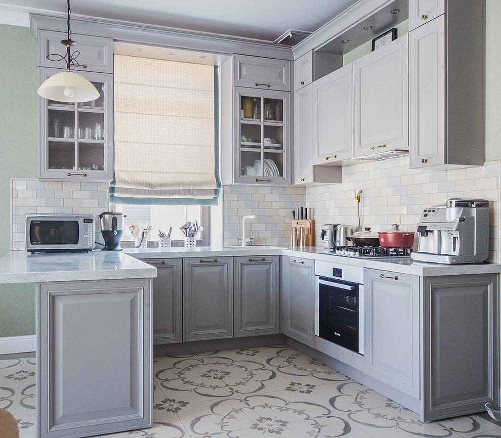 Все об использовании серого цвета в интерьере кухни