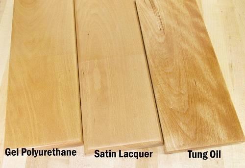 Чем покрыть древесину после обработки маслом