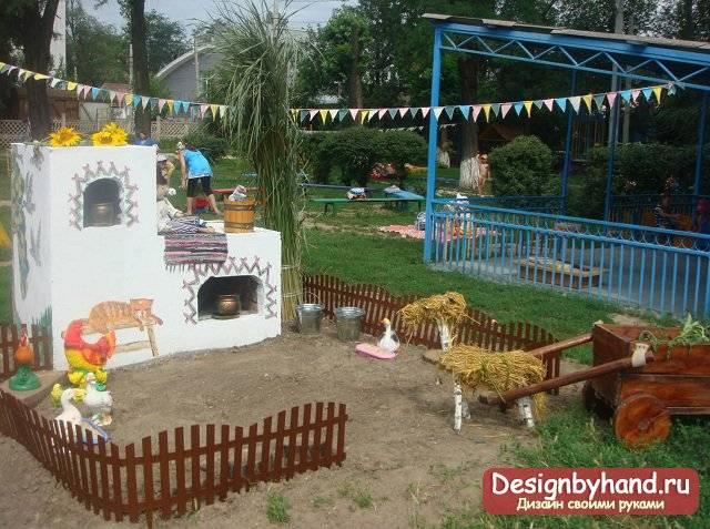 7 советов по обустройству игровой площадки для детей на даче