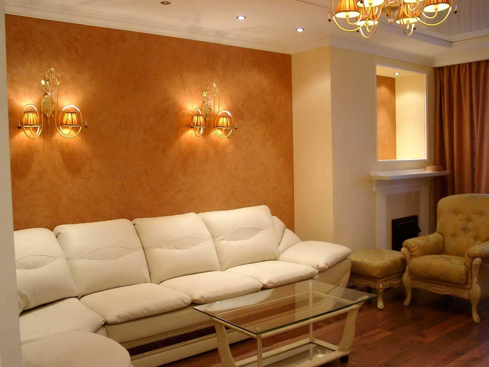 Как лучше применить декоративную штукатурку в интерьере разных комнат?