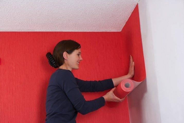 Как правильно клеить обои в углах комнаты – подробная инструкция
