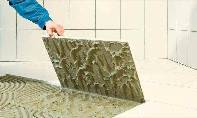 Плиточный клей для теплого пола — как правильно выбрать? виды и правила использования