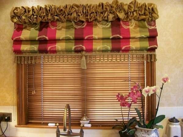 Жалюзи на окна своими руками: из обоев, ткани, бумаги