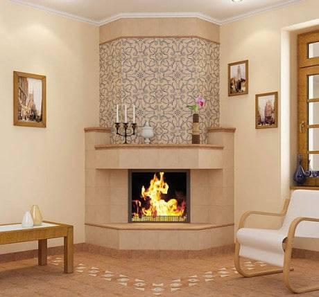 Клинкерная плитка для печей и каминов: варианты облицовки, расценки на укладку