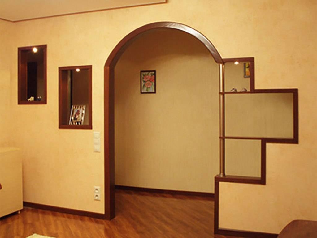 Лучшие варианты оформления дверного проема без двери