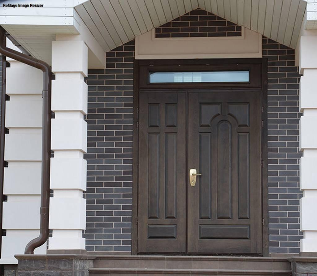 Качественные финские входные двери для загородного дома