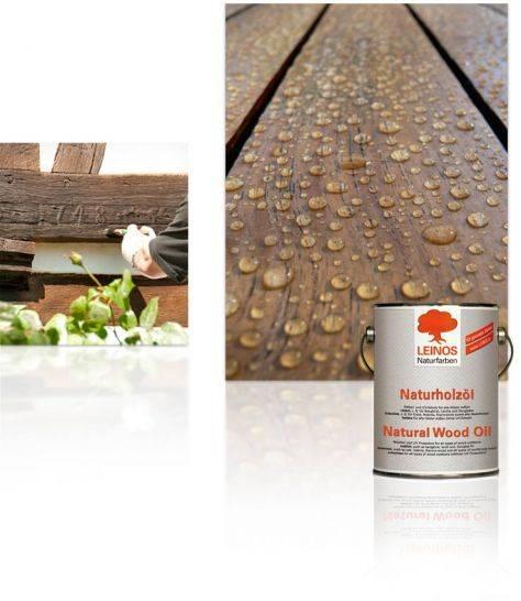 Особенности применения льняного масла для защиты древесины