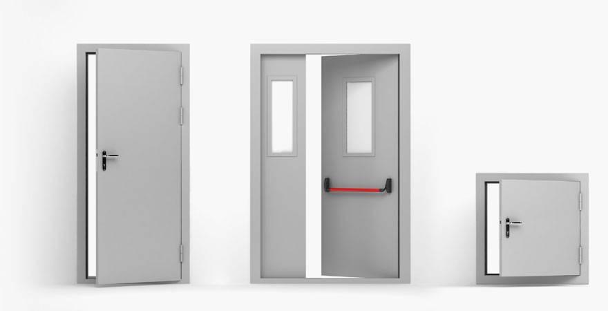 """Противопожарные двери и требования пожарной безопасности к дверям - журнал """"пожар.инфо"""""""
