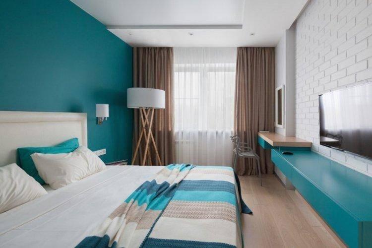 Синяя спальня — лучшие варианты сочетания. топ-100 фото новинок дизайна спальни с синим оттенком