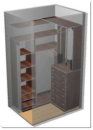 Гардеробная из кладовки своими руками: системы хранения вещей для гардеробной и советы от мастеров