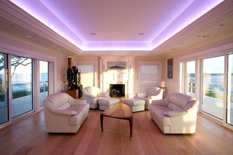 Светодиодная лента под натяжным потолком: способ самостоятельного монтажа.