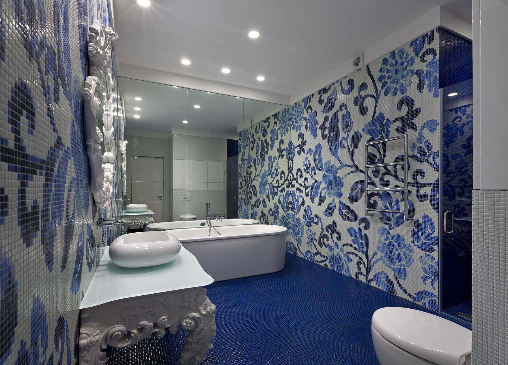 Плитка для ванной комнаты: 80 фото в интерьере, современные идеи дизайна