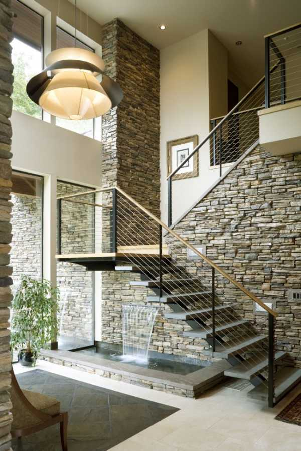 Лестница на второй этаж: идеи дизайна (75 фото)