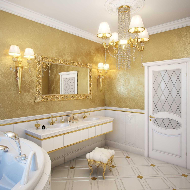 Декоративная штукатурка в интерьере ванной комнаты - 75 фото