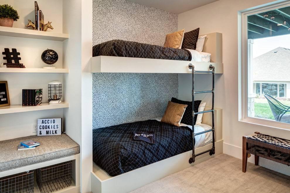 Двухъярусная кровать для подростков - правила выбора | фото