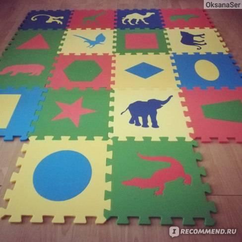 Мягкий пол в детской комнате — безопасность первых шагов (25 фото)