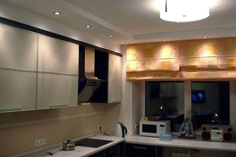 Виды потолков для кухни из гипсокартона и как сделать своими руками?