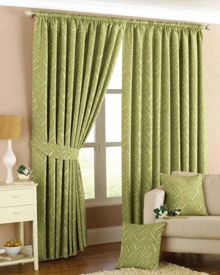 Зеленые шторы в спальню: 135 фото новинок дизайна + правила сочетания