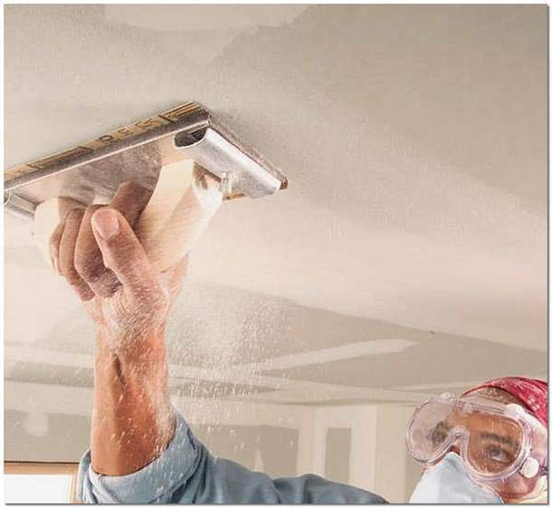 Шпаклевка потолка: как ровно и правильно шпаклевать потолки из разных материалов