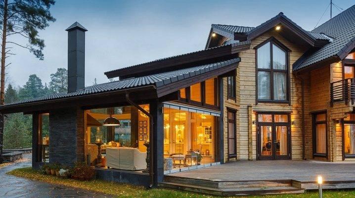 Стеклянные дома (60+ фото проектов): стильные варианты остекленных фасадов, веранд и террас