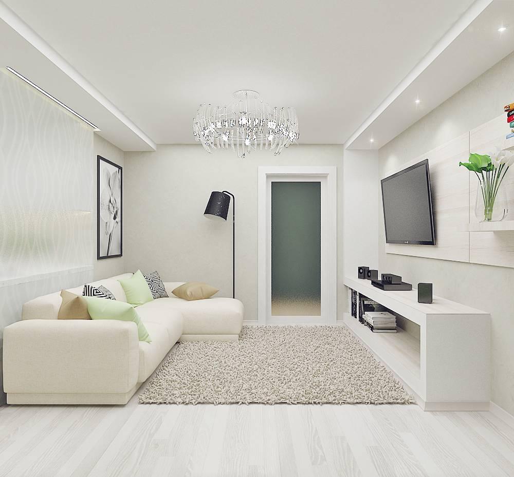 70+ красивых идей дизайна узкой гостиной (фото)