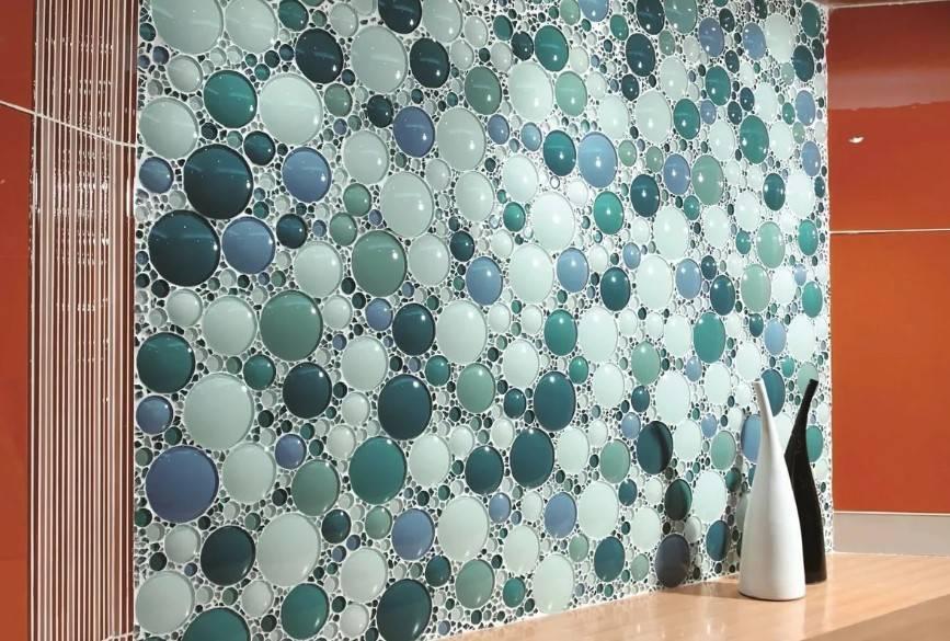 Укладка мозаики в ванной комнате своими руками