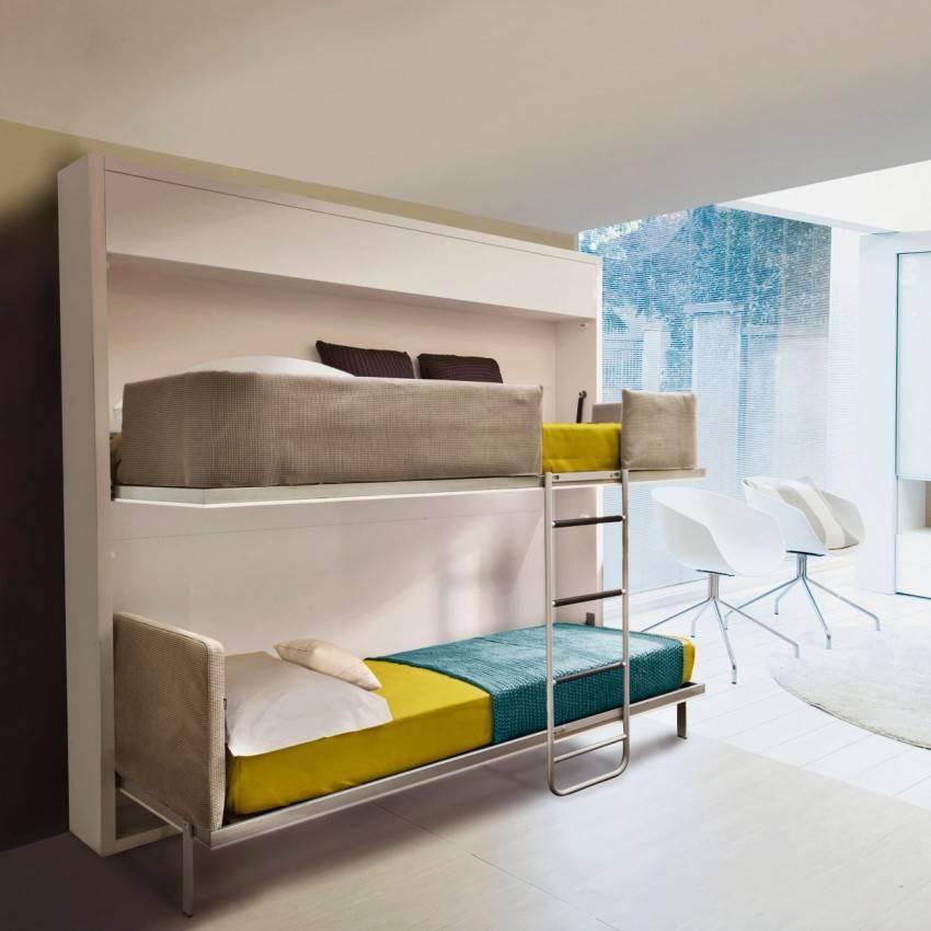 Кровать трансформер для малогабаритной квартиры: секреты выбора