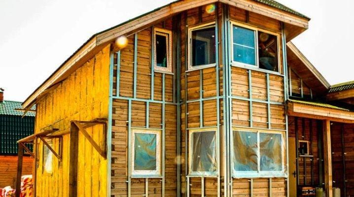 Как утеплить бревенчатый дом снаружи