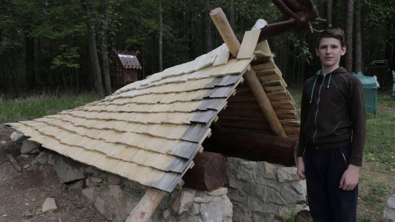 Крыша из деревянной черепицы своими руками — изготовление и укладка (фото и видео)