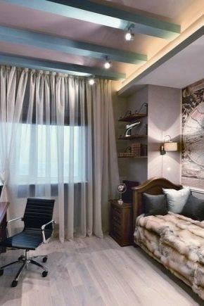 Свежие идеи оригинального оформления комнаты для современного мужчины