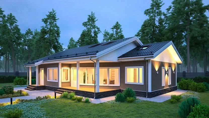 Каркасный дом: примеры расчетов стоимости строительства