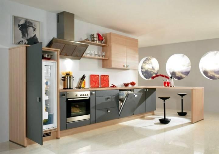 Где поставить на маленькой кухне холодильник: варианты и особенности размещения, советы от дизайнеров, фото