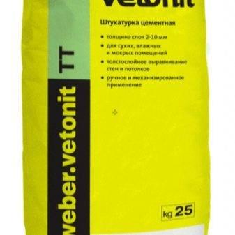 Шпаклевка vetonit: шпатлевка lr и kr, расход материала на 1 м2, технические характеристики