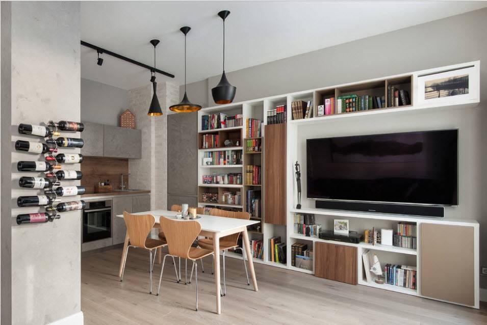 Телевизор на кухне: выбор и варианты размещения
