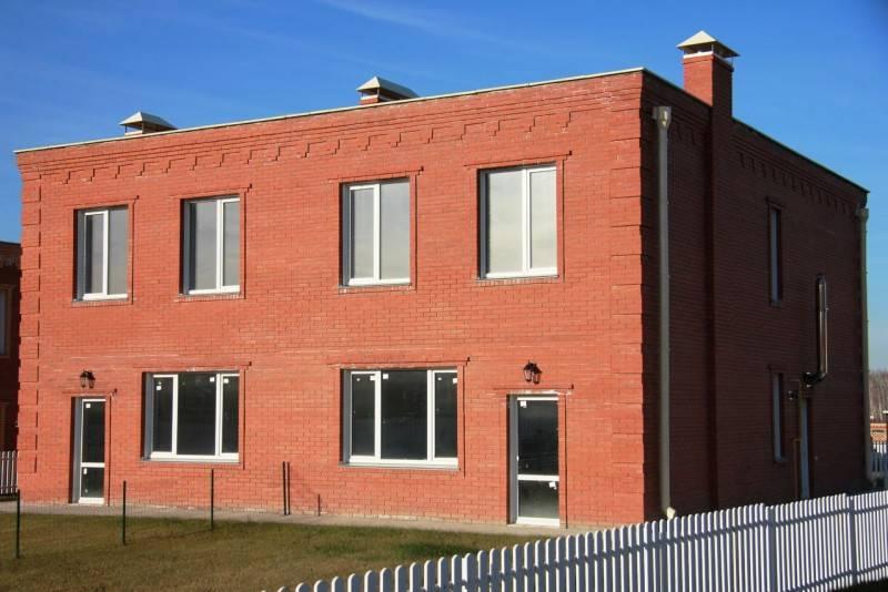 Кирпичный фасад: 110 фото особенностей применения отделочного материала
