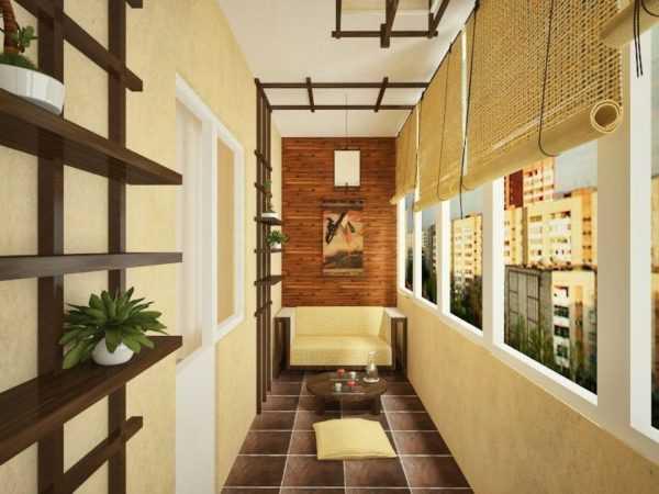 Как обустроить балкон внутри просто и дешево: интересные идеи 2018-2019