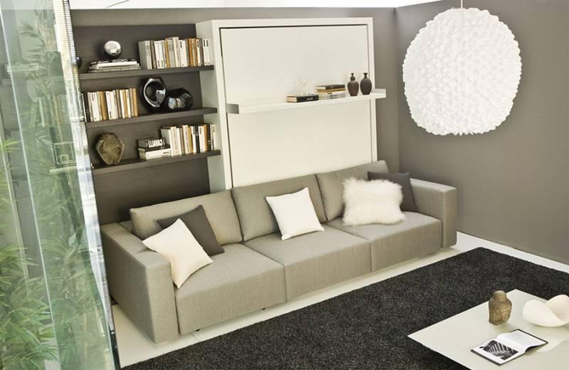Шкаф-кровать трансформер, особенности, разновидности, комплектация