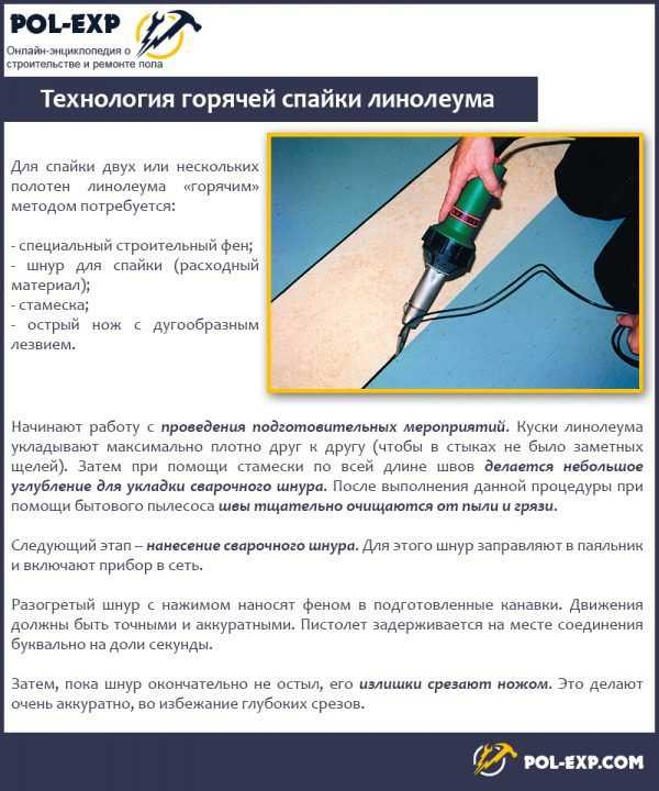 Холодная сварка для линолеума - пошаговая инструкция по применению с подробным описанием от мастера
